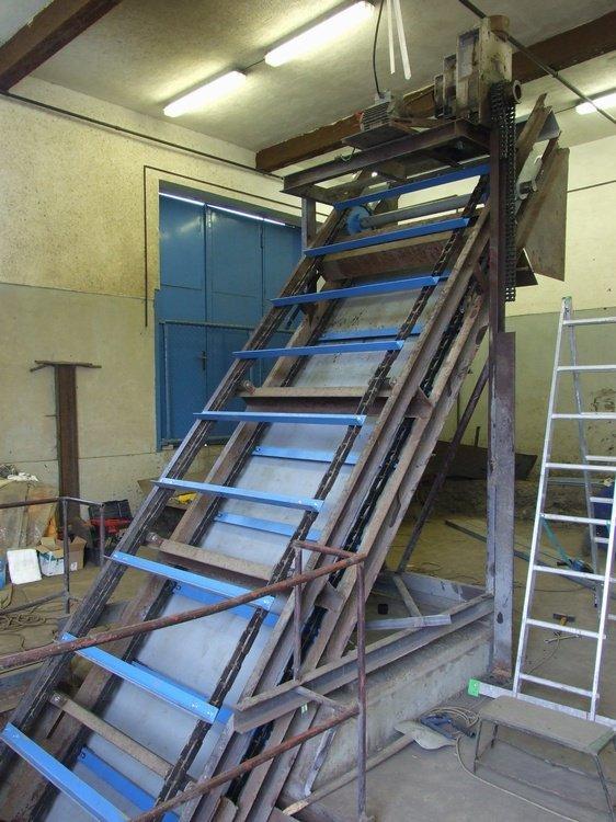 Desintering equipment<br />Installed in Dopravni podnik Ostrava.